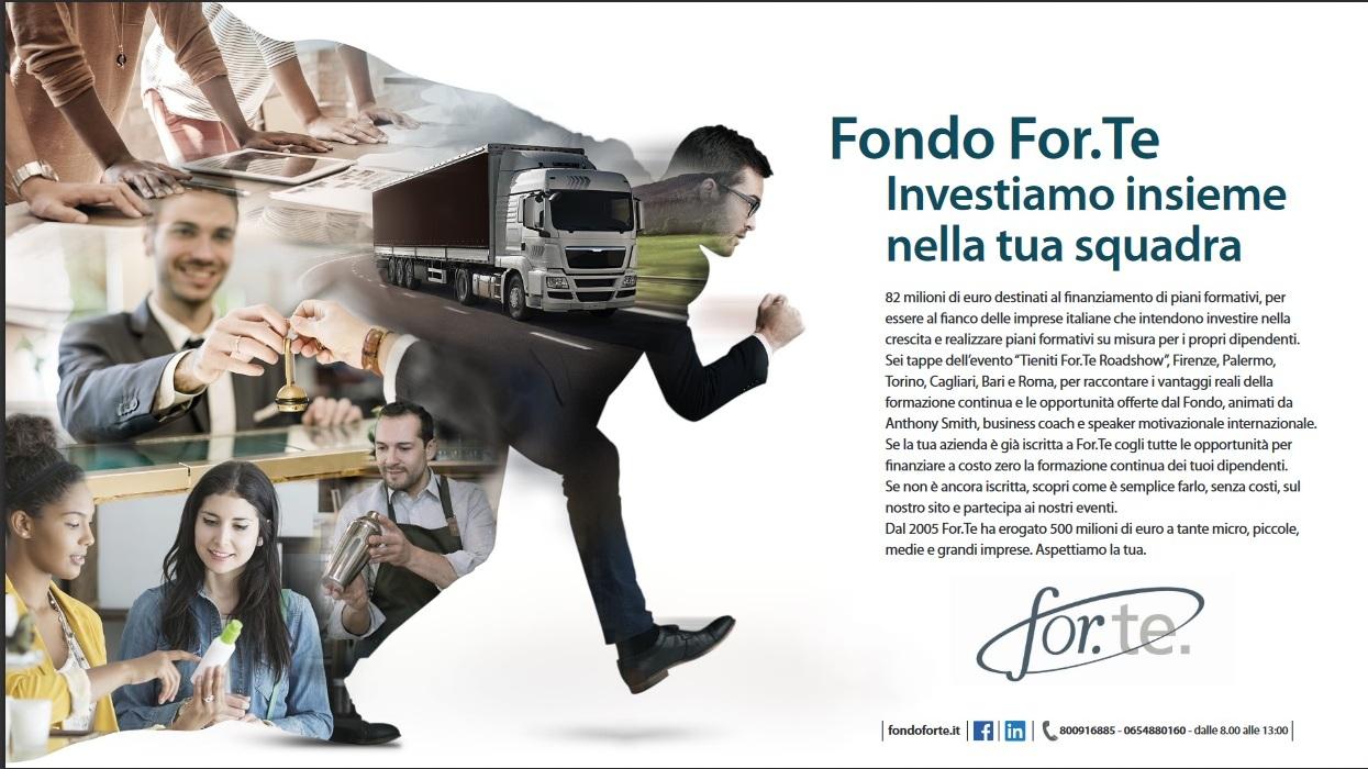 Tieniti Forte roadshow